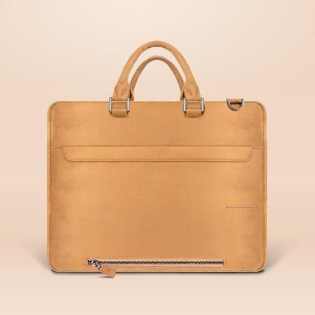 Alfonso Corporate Laptop Bag Brown Back