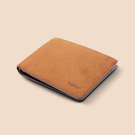 Alfonso Slim Wallet Brown Front
