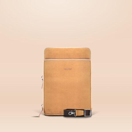 Alfonso Universal Tablet Bag Brown Front