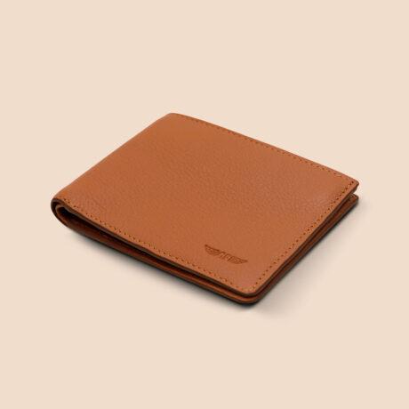 Berto Slim Wallet Brown Front