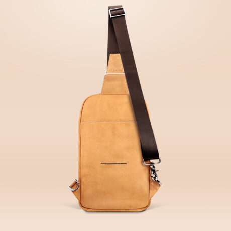 Alfonso Day Trip Crossbody Bag Brown Back
