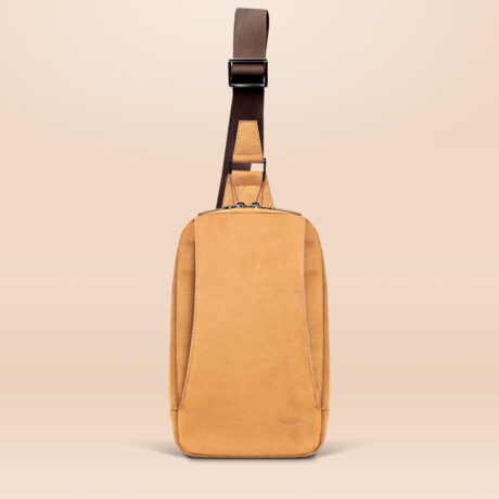 Alfonso Day Trip Crossbody Bag Brown Front