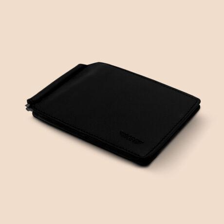 Berto Slim Clip Black Front