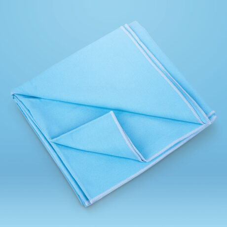 Essential Quick Dry Travel Towel Blue Super Absorbent